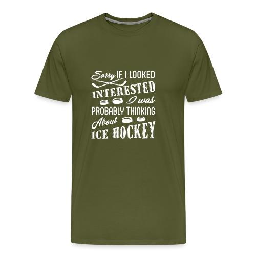 Ice Hockey - Men's Premium T-Shirt