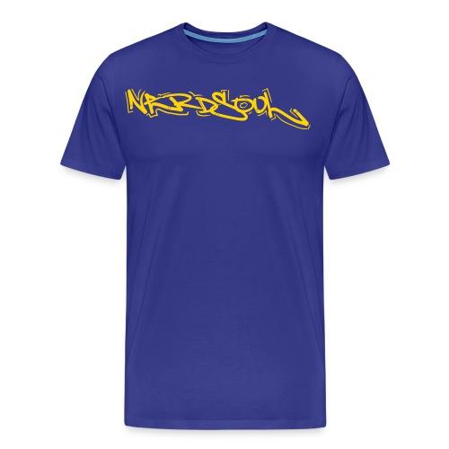 NERDSoul Graf Writer Yw - Men's Premium T-Shirt
