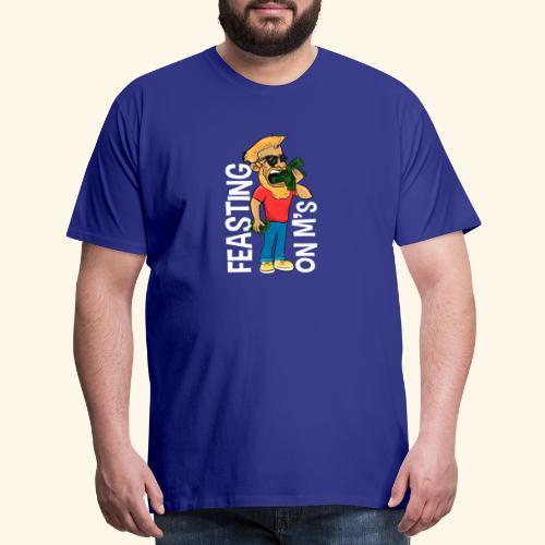 Feasting on M's - Men's Premium T-Shirt