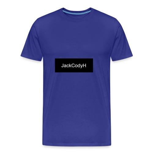 JackCodyH black design - Men's Premium T-Shirt