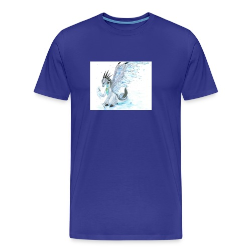 Little dude griffins and dragons 30659635 1004 791 - Men's Premium T-Shirt