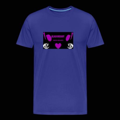 Black Heart - Men's Premium T-Shirt