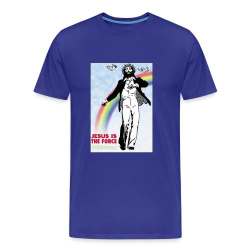 Jesus is Dancing on Popular Culture - Men's Premium T-Shirt