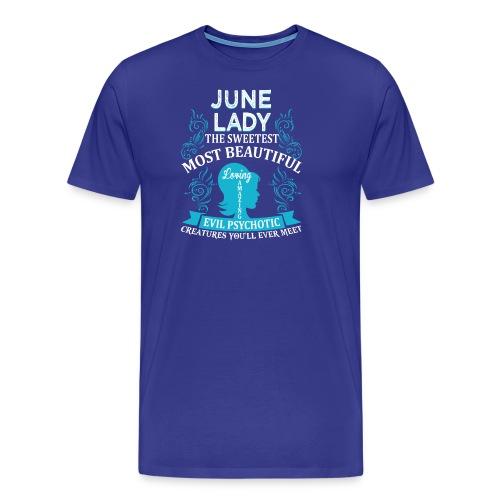 June lady - Men's Premium T-Shirt