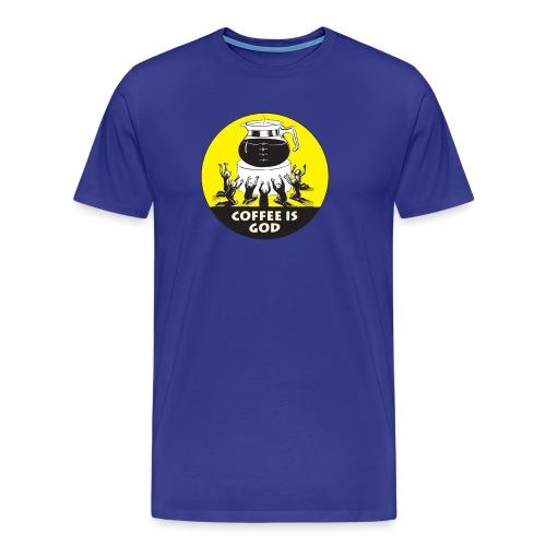 Worship Coffee Time - Men's Premium T-Shirt