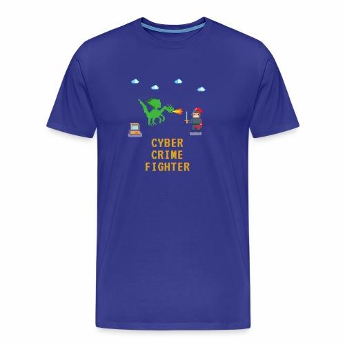 Cyber Crime fighter - Men's Premium T-Shirt