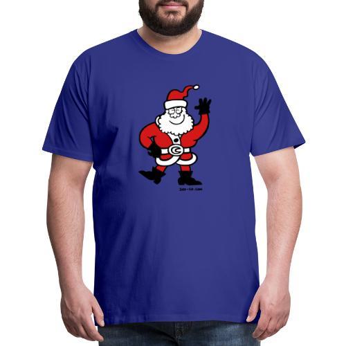 Santa Claus Greetings - Men's Premium T-Shirt