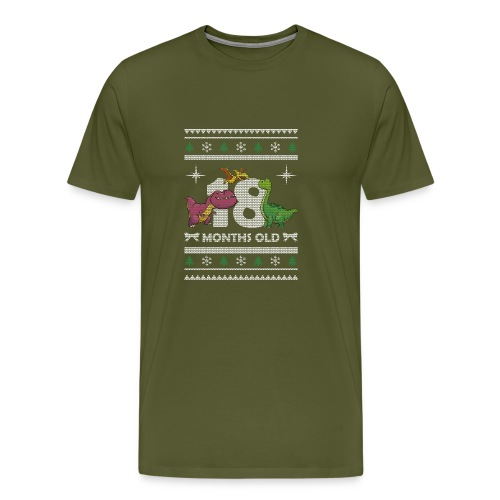 Christmas 18 months old - Men's Premium T-Shirt