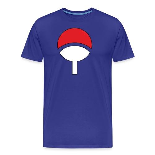 uchiha clan symbol by elsid37 d4t4t8l - Men's Premium T-Shirt