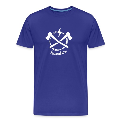 woodchipper back - Men's Premium T-Shirt
