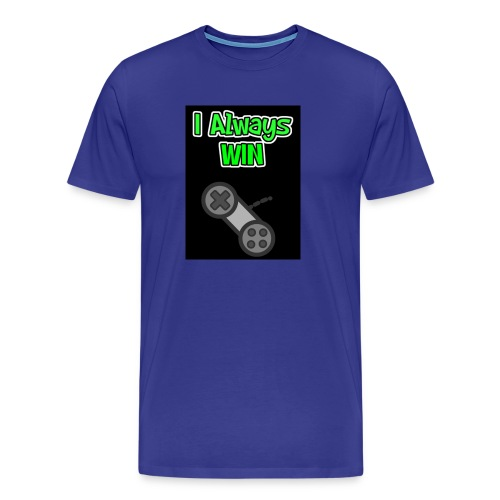 I always win - Men's Premium T-Shirt