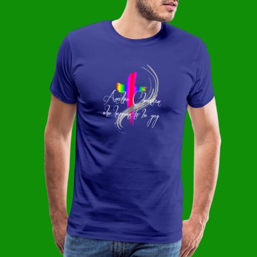 Another Gay Christian - Men's Premium T-Shirt