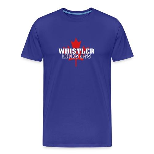 Whistler Kicks Ass 2 - Men's Premium T-Shirt