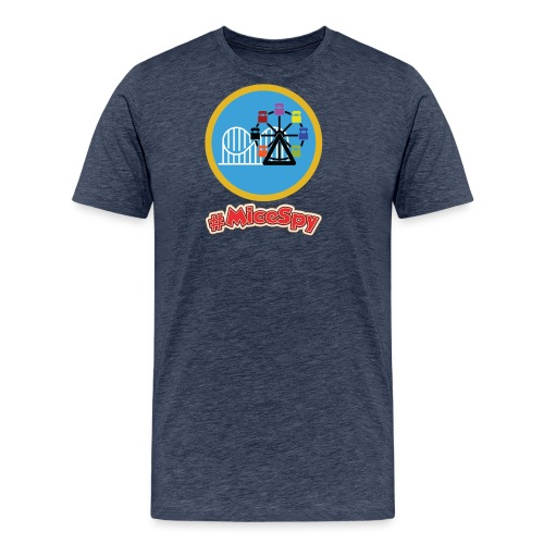 Paradise Pier Explorer Badge - Men's Premium T-Shirt