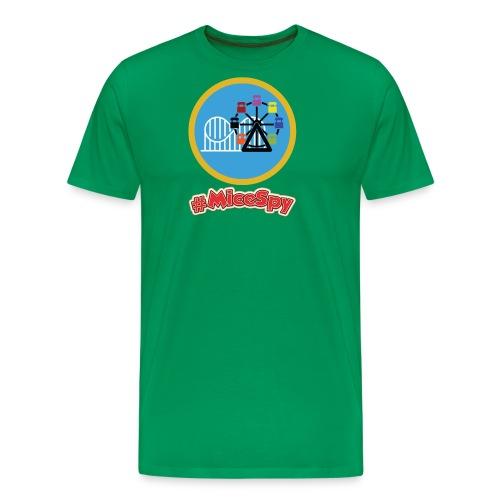 Paradise Pier Explorer Badge - Men's Premium T-Shirt