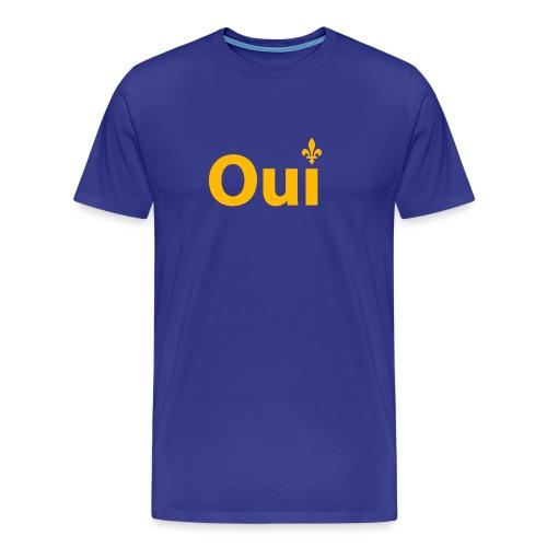 OUI Québec - Men's Premium T-Shirt