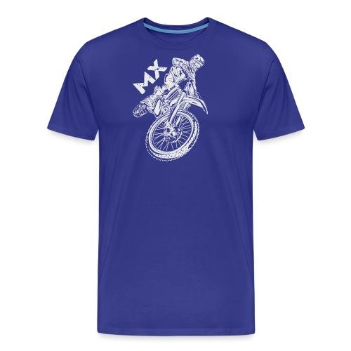Motocross MX Rider - Men's Premium T-Shirt