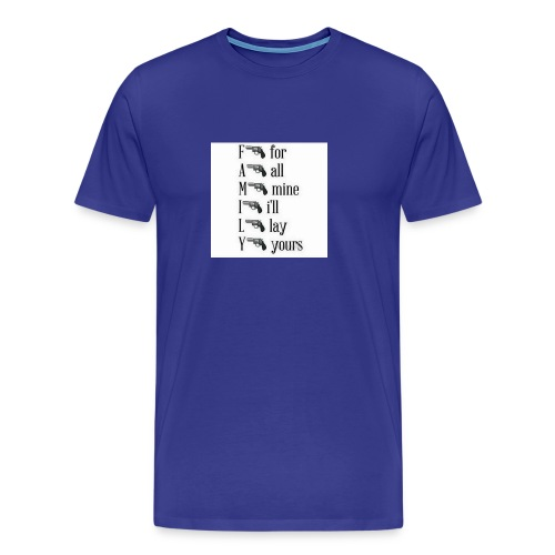 Family is important - Men's Premium T-Shirt