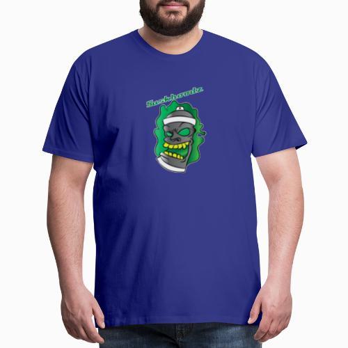 saskhoodz paint - Men's Premium T-Shirt