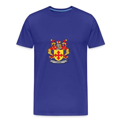 Carlisle Family Crest - Men's Premium T-Shirt