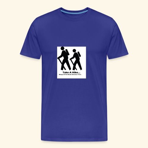 Womyn of the Woods Hiker couple - Men's Premium T-Shirt