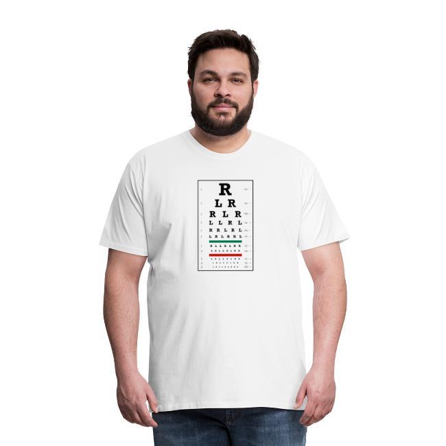 Drummers Eye Chart