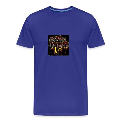 Warcraft Baby: Level 1 Shaman - Men's Premium T-Shirt