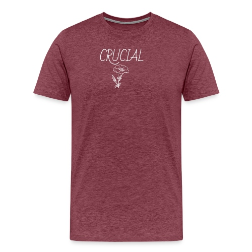 Crucial Abstract Design - Men's Premium T-Shirt