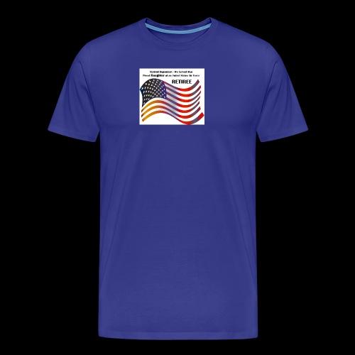 retired Military Dependents - Men's Premium T-Shirt