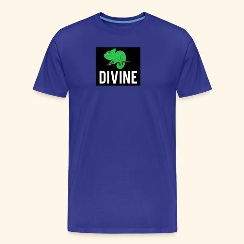 DIVINE - LIZARD DIVINE LETTERING - Men's Premium T-Shirt