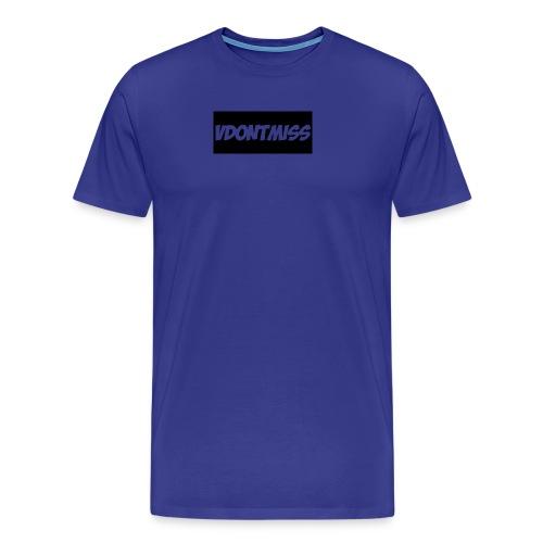 vDontMiss Nation - Men's Premium T-Shirt