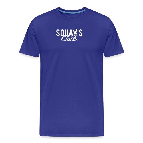 Squats Fitness Chick - Men's Premium T-Shirt