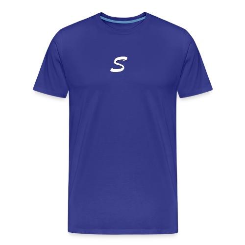 smtsclan white logo - Men's Premium T-Shirt