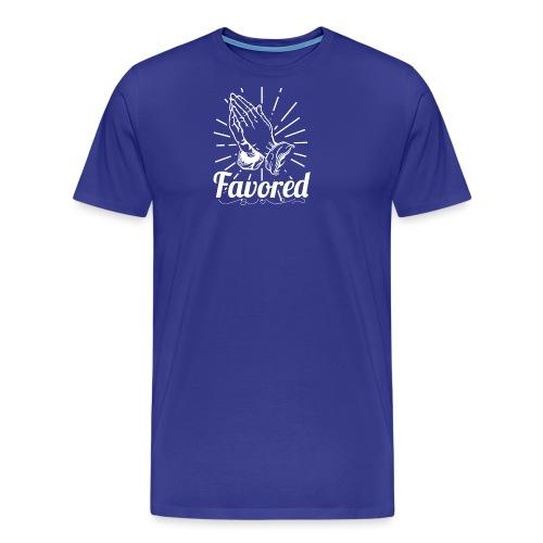 Favored - Alt. Design (White Letters) - Men's Premium T-Shirt