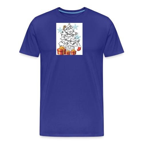 Christmas is here!! - Men's Premium T-Shirt