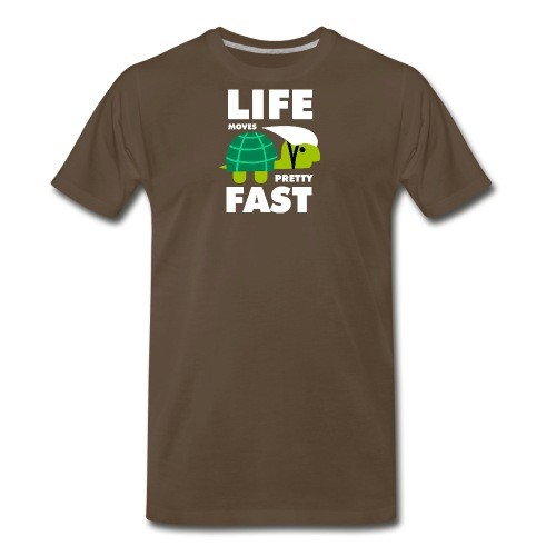 Life moves pretty fast - Men's Premium T-Shirt