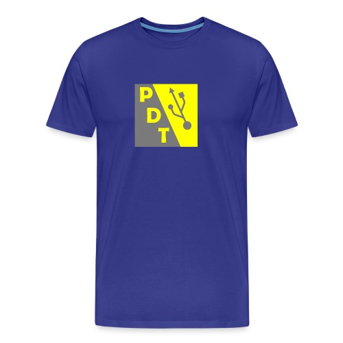 PDT Logo - Men's Premium T-Shirt