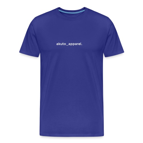 simple_text. - Men's Premium T-Shirt