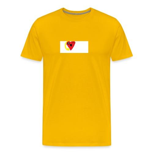 love heat - Men's Premium T-Shirt