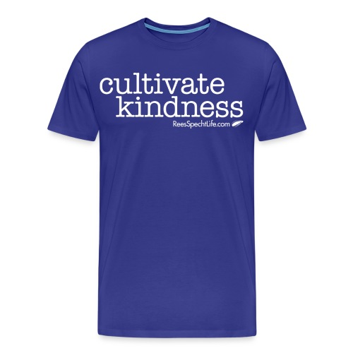 Cultivate Kindness White Logo Women's Shirt - Men's Premium T-Shirt
