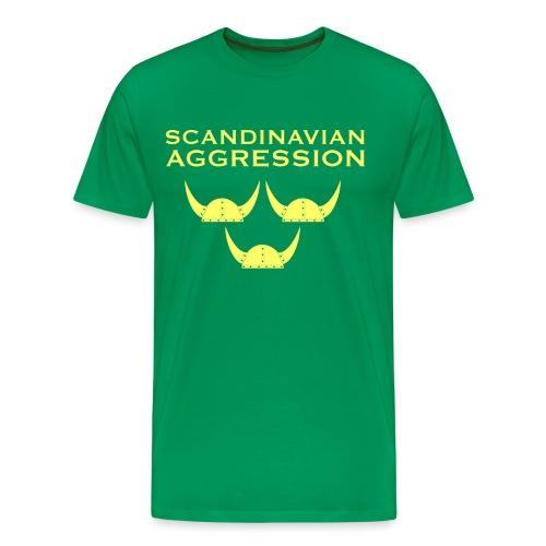 Tre Hjälmar Single-Sided T-Shirt - Men's Premium T-Shirt
