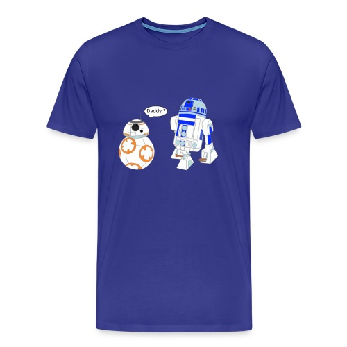 bb8 and r2d2 - Men's Premium T-Shirt