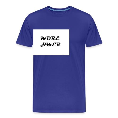 MORE HMER - Men's Premium T-Shirt