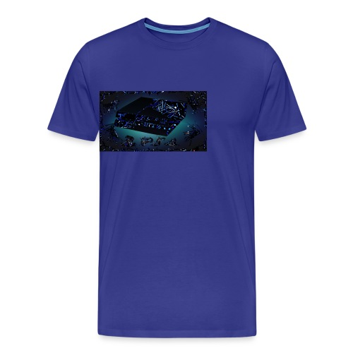 ps4 back grownd - Men's Premium T-Shirt