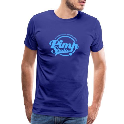 PIMP STUDIO bleu pale - Men's Premium T-Shirt