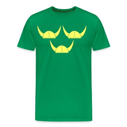 Tre Hjälmar Double-Sided T-Shirt - Men's Premium T-Shirt
