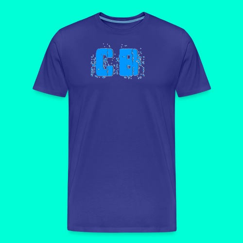 CB Logo Transparent - Men's Premium T-Shirt