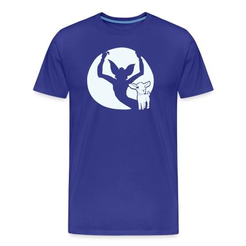 evil goat - Men's Premium T-Shirt