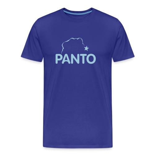 panto stencil smaller - Men's Premium T-Shirt