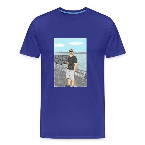 70202927_423891181583532_ - Men's Premium T-Shirt